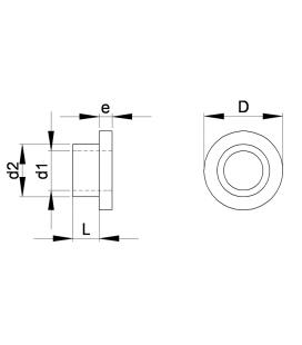 CANON EPAULE (Bague épaulée isolante) Série S - CESS