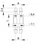 SUPPORT CI CLIP / CLIP Série 01 02 03 - HSCC