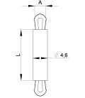 SUPPORT CI CLIP / CLIP Série 05 06 - HSCC