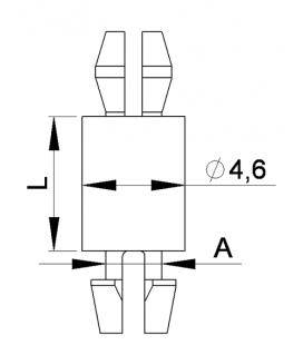 SUPPORT CI CLIP / CLIP Série 11 12 - HSCC