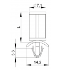 SUPPORT CI ANCRE / PLAT - HSAP02