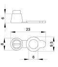BOUCHON POUR GRAISSEUR - B132