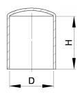 PROTECTEUR SOUPLE ROND PVC - B01