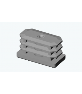 EVG - EMBOUT VISSABLE RECTANGULAIRE PE
