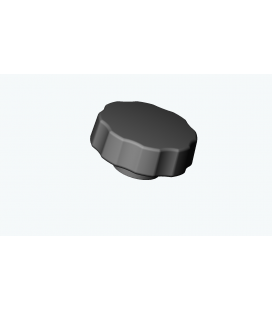 SBE - ECROU DE MANOEUVRE PLASTIQUE/METAL TETE DIAMETRE 30/40/50 SERIE B