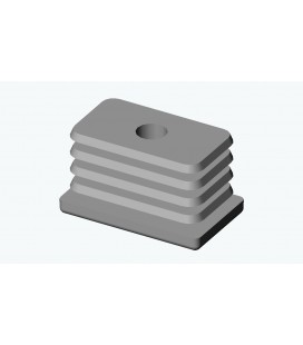 EVG - EMBOUT VISSABLE RECTANGULAIRE